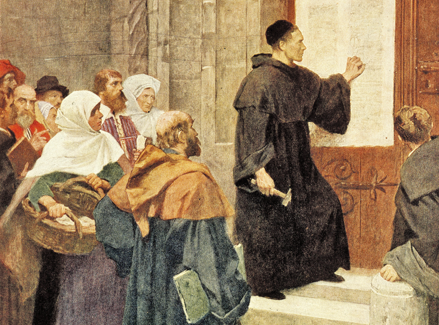 On This Day: Martin Luther Nails Ninety-Five Theses to Chapel Door