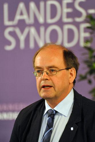 Vorsitzender Einer Synode