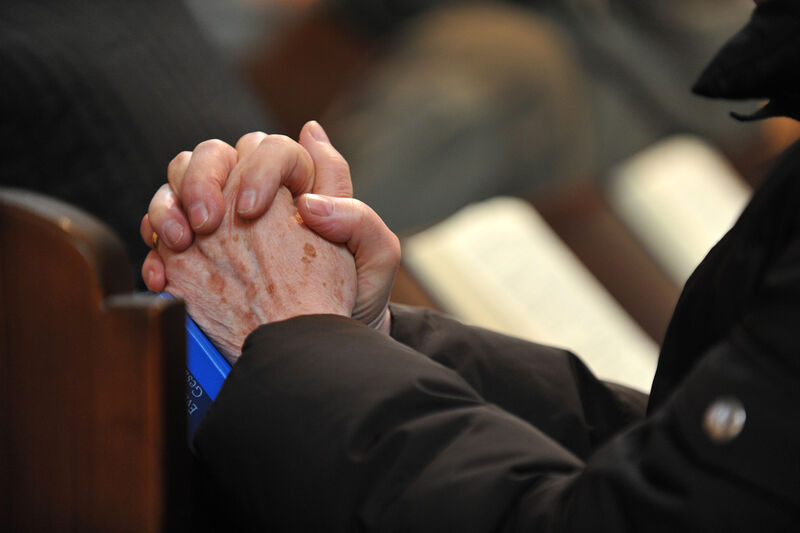 Beten Hände